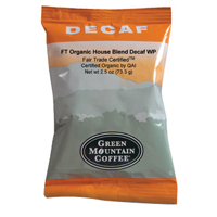 Green Mountian House Blend Decaf